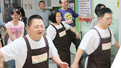 Coface Taiwan - Aerobics with members of down syndrome centre