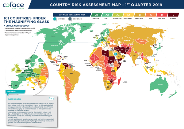 Country-risk-map